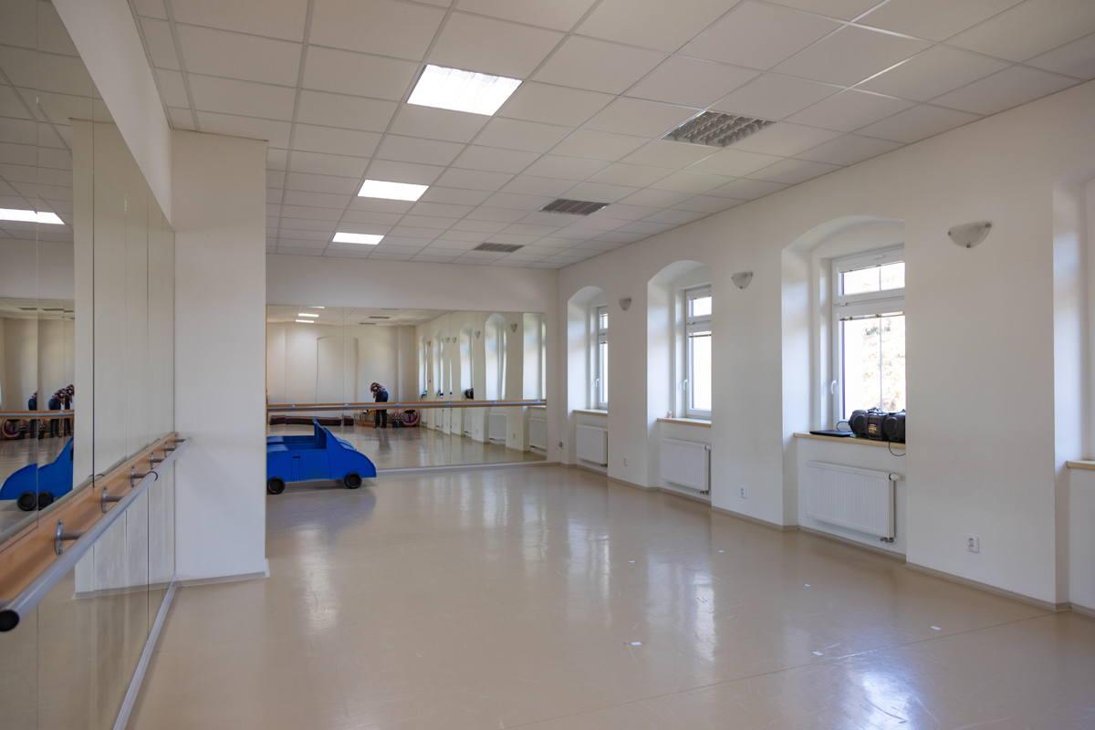 now a dance studio