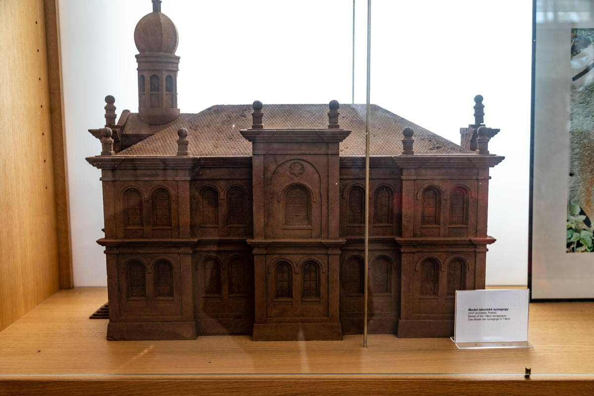 3D rendering of synagogue
